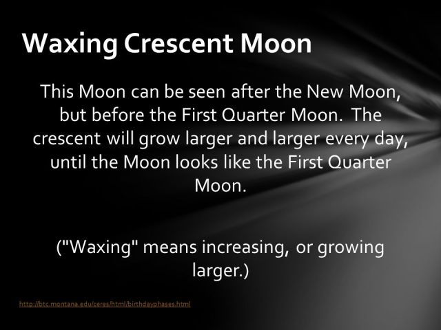 (+Waxing+means+increasing,+or+growing+larger.)